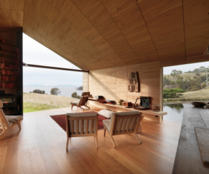 2013 winner John Wardle Architects, Shearers Quarters, photography by Trevor Mein