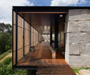 Sawmill House, Archier, photography by Benjamin Hosking