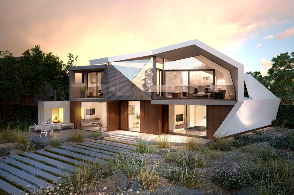 Bdav building design award winners 2015 green for Award winning house plans 2015