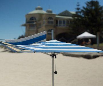 F-160 Finbrella beach umbrella