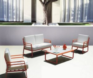 Milan outdoor lounge