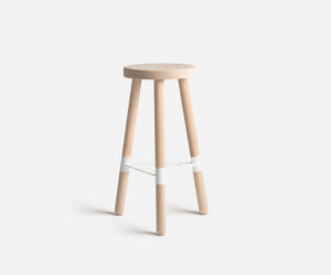 kin barstool raw_white 690