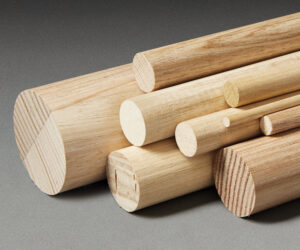 Porta's timber dowels are available in a range of sizes in both hardwood and softwood