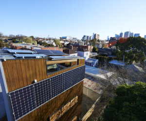 The 5x4 House in Melbourne utilises the Energy Home Energy Solution