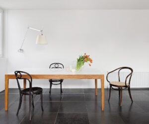 Corian Dining Table. Seats 8 - Steffen Welsch Architects