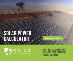 solar power calculator introduction