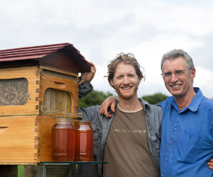 Flow Hive by Stu and Cedar Anderson.