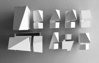 Emerging Architects Graduate Network model-making
