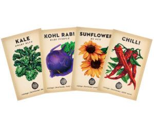 47 varieties (and counting) of heirloom seeds.