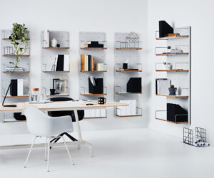 Wanda Shelving System by Cantilever Interiors Library