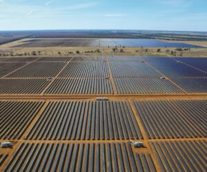 Broken Hill Solar Plant, photo courtesy of AGL Energy
