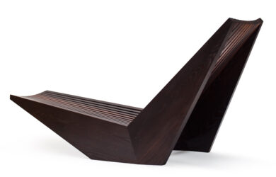David Trubridge's seat