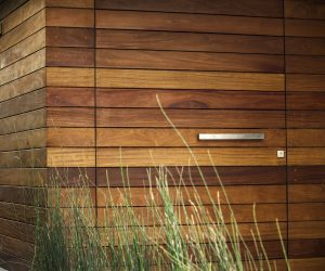 Cumaru hardwood timber cladding